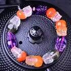 Las pulseras de cristal Natural de Color fino tallan a mano la pulsera de perlas de Pixiu ayudan a las mujeres de los hombres de la joyería de cristal JoursNeige - 4