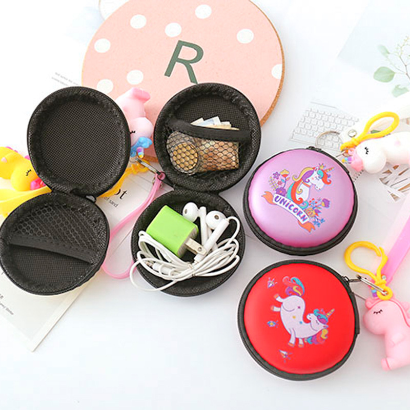 Cute Creative Doll Earphones Purse My Little Cartoon Coin Bag Charger Pendant Whole Transaction Support Box