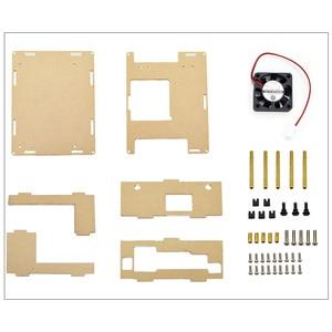 Image 5 - NVIDIA Jetson Nano Entwickler kit Klar Acryl Fall für Jetson Nano mit Lüfter