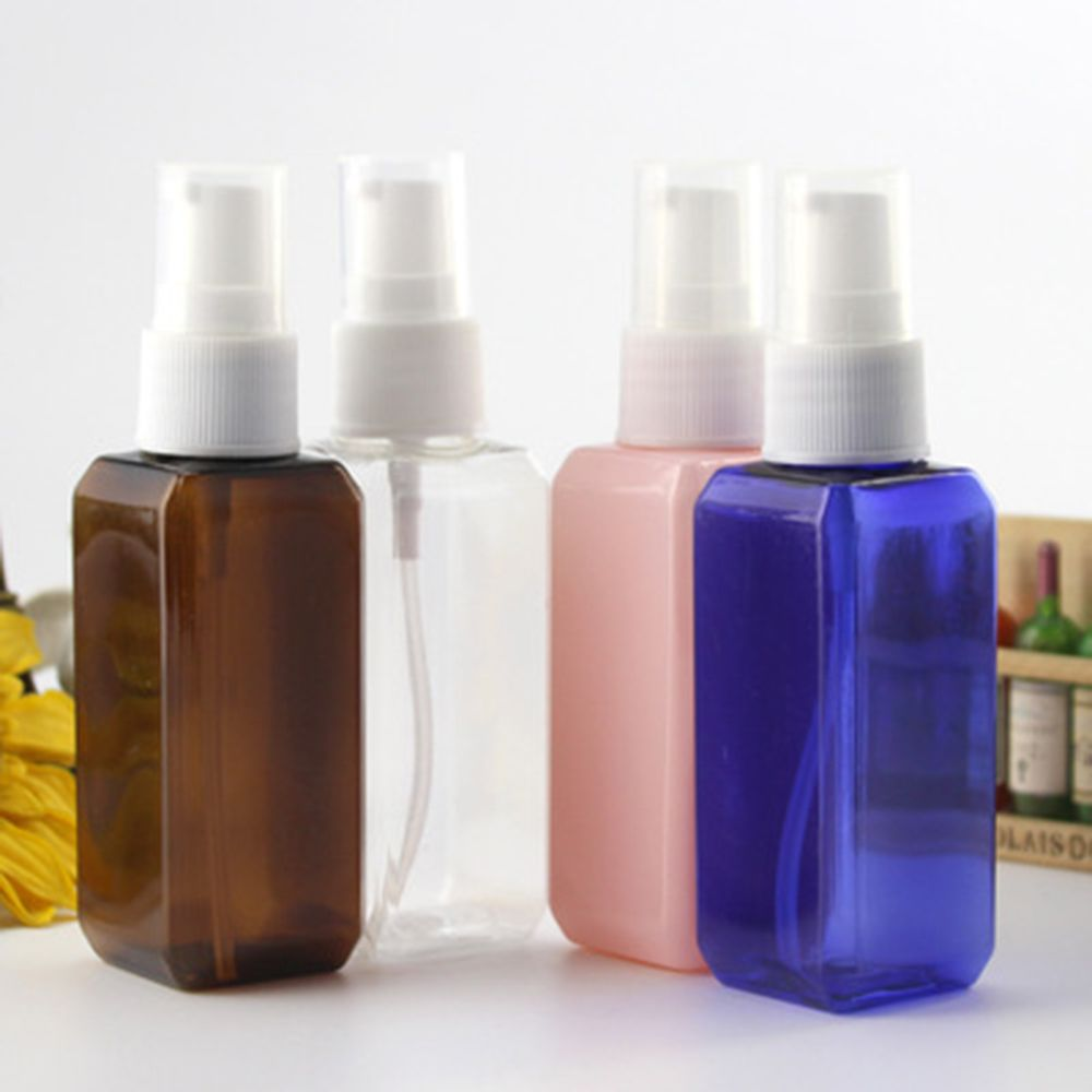 1Pc Empty Plastic Fine Mist Spray Bottle Portable Refillable Sprayer Bottles Esstenial Oil Liquid Atomizer Makeup Spray Bottle