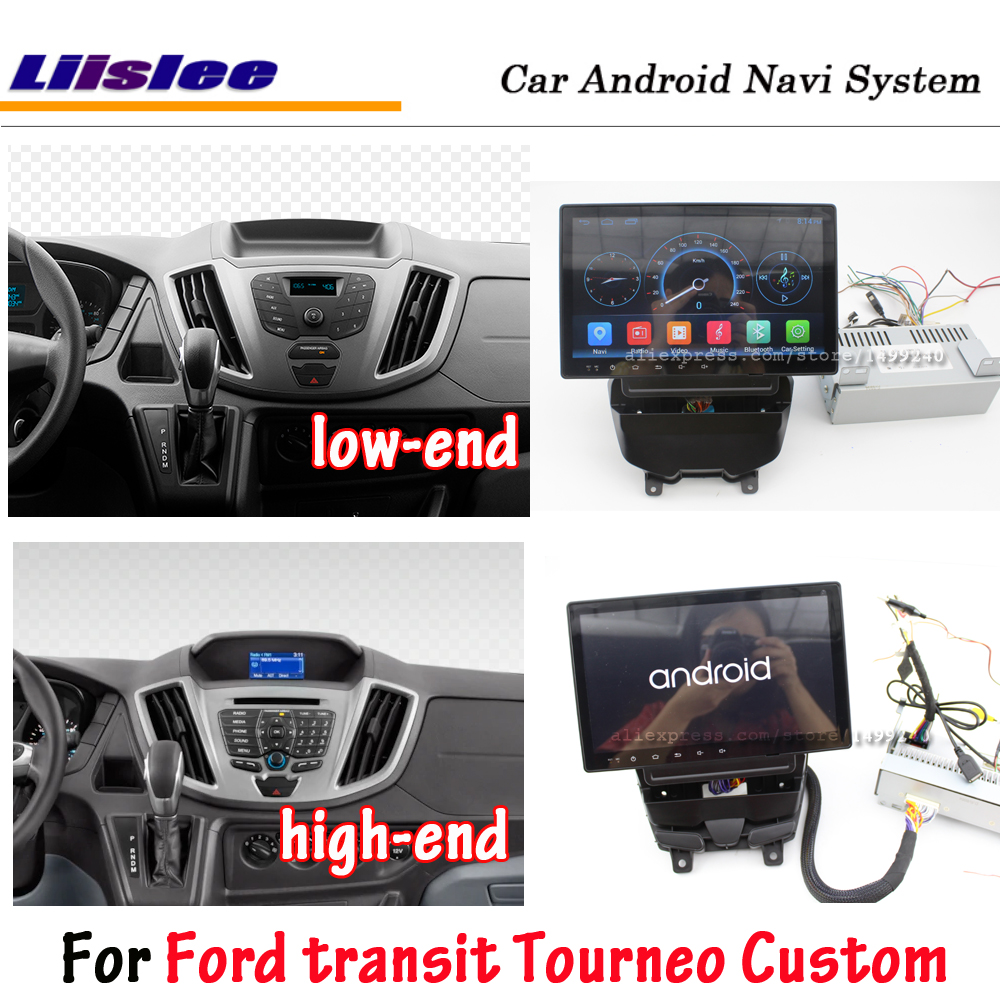 Car Multimedia Player For Ford Transit Tourneo Custom 2016-2020 Android Radio Stereo Screen Wifi GPS  Navigation System