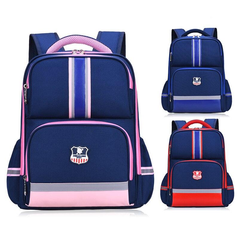 England Style Children School Bags for Girls Schoolbag Boys Primary School Backpacks Kids Orthopedic Backpack Escolar Mochila