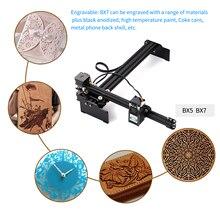 2.3/3.5/7/15/20W lazer oyma makinesi lazer gravür yazıcı DIY lazer gravür kesici gravür ahşap kesme makinesi yönlendirici