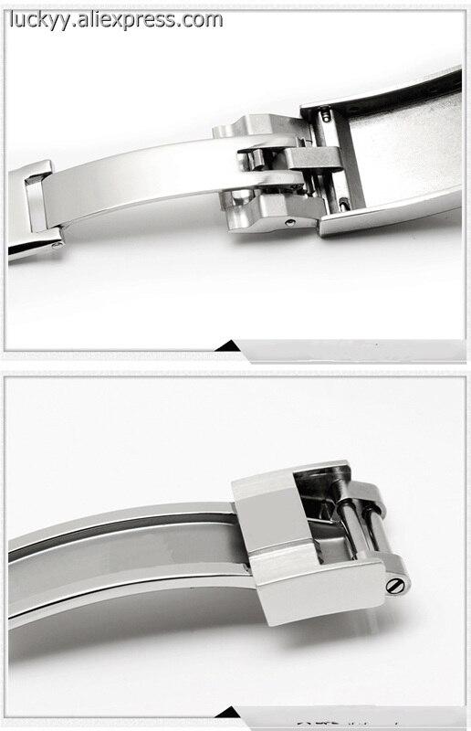 Высококачественная Роскошная брендовая Складная Пряжка 16 18 мм застежка из нержавеющей стали для мужских часов Daytona SEAMaster A116