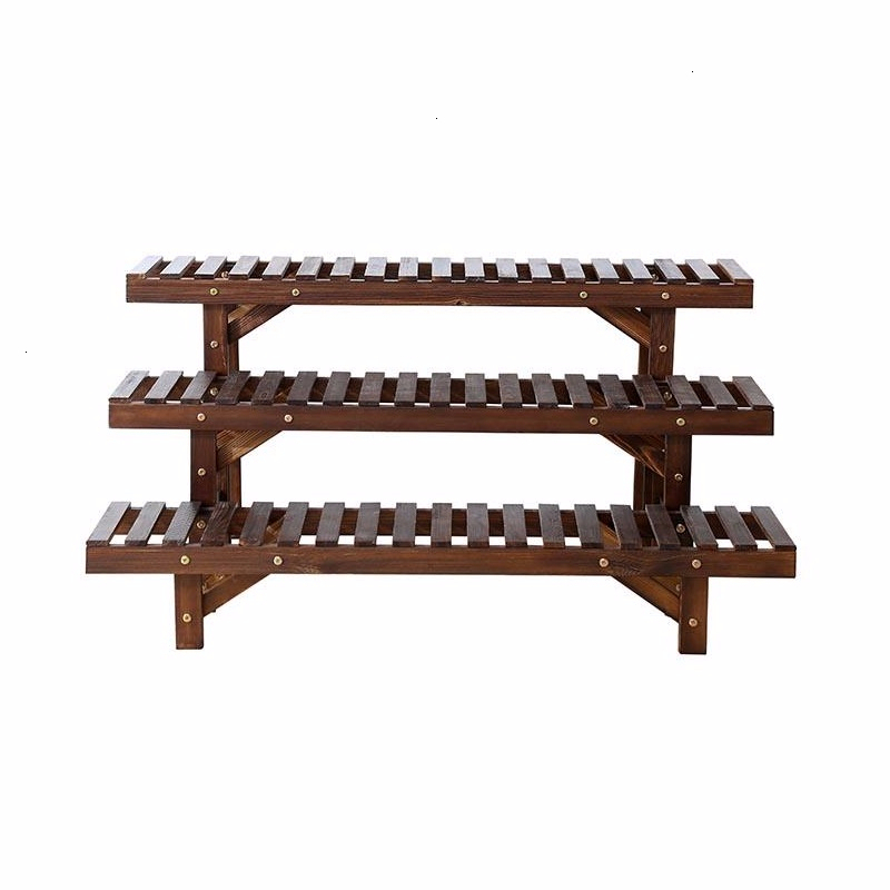Para Macetas Suporte Flores Indoor Pot Stand Estanteria Plantas Plantenstandaard Dekoration Rack Balcony Flower Plant Shelf