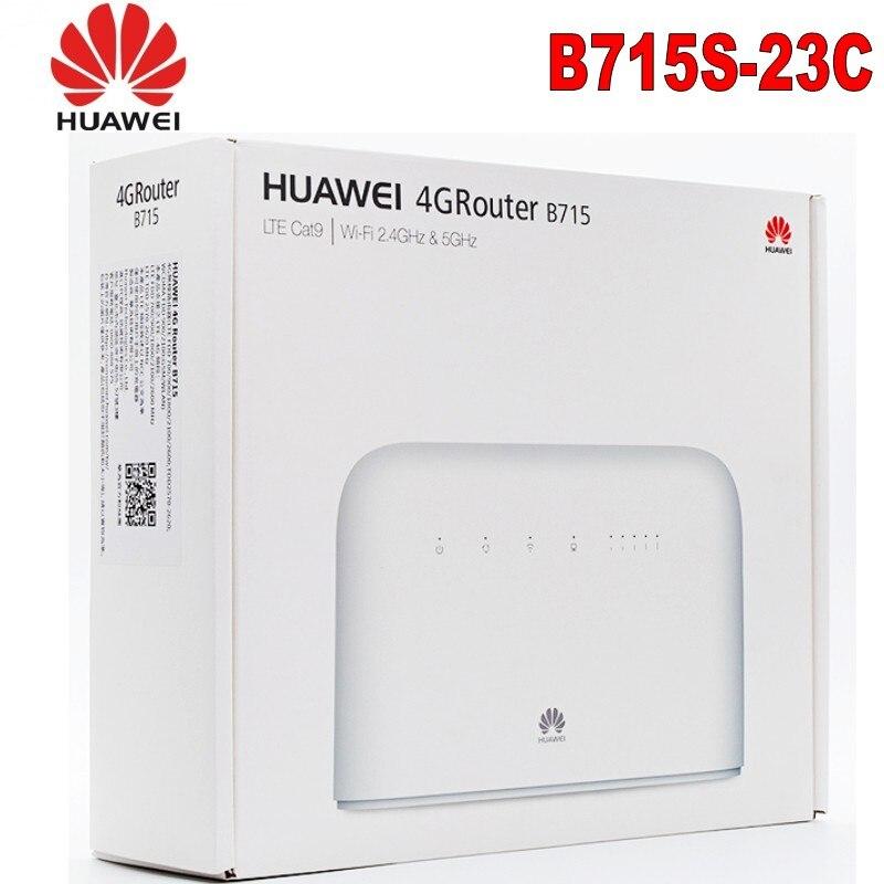 Nouveau Original débloqué Huawei B715s-23c 4G LTE Cat9 Band1/3/7/8/20/28/32/38 CPE 4G WiFi routeur B715s-23c PK B618 E5788 M1