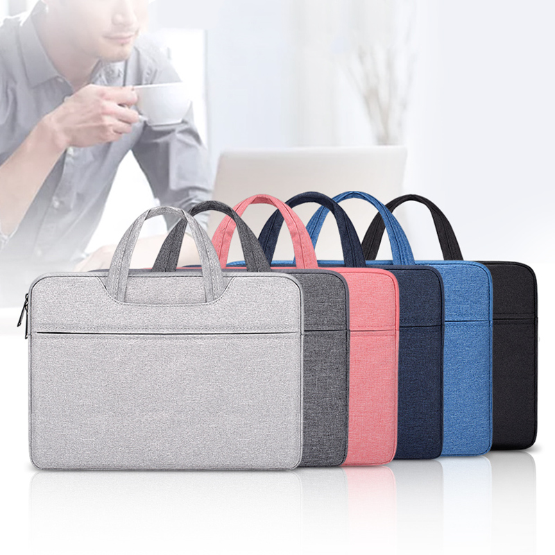 Laptop Bag for Macbook Air <font><b>Notebook</b></font> <font><b>Case</b></font> 13/14/<font><b>15</b></font> inch Laptop Sleeve Computer Handbag Briefcase Carry Bag for DELL HP <font><b>Xiaomi</b></font> image