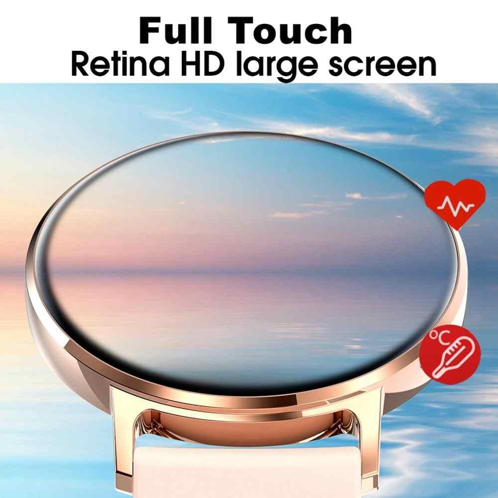 LEMFO S30 Smartwatch الرجال النساء درجة حرارة الجسم ECG ضغط الدم IP68 مقاوم للماء Smartwatch للهاتف أندرويد IOS