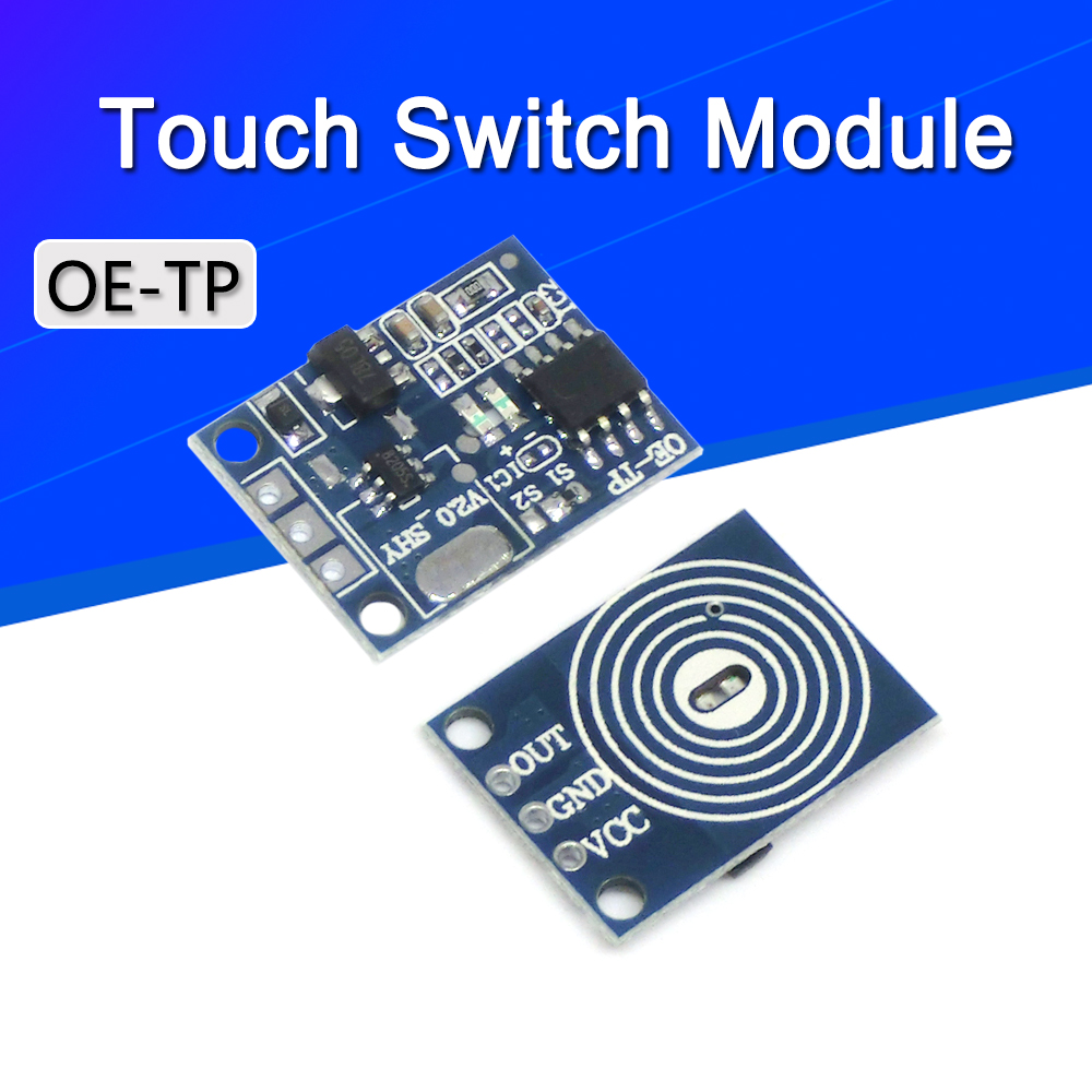 10 5pcs Oe Tp Capacitive Touch Button Light Touch Switch Module Digital Touch Sensor Led No Pole Dimming 10a Dc 5 12v Big Discount 65f88 Cicig