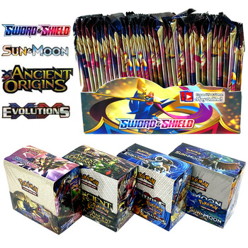 2020 Newest 324Pcs Pokemon Cards TCG: Sword & Shield Booster Box Collectible Trading Card Game 1