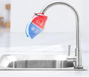 Image 2 - Youpin Xiaoda Instant Heating Faucet Electric Water Heater 30 50°C Cold Warm Adjustable Waterproof Faucet With LED Digital Light
