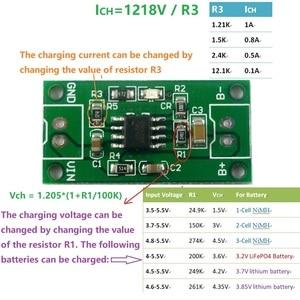 Image 2 - 1A 1A chargeur chargeur batterie Rechargeable tout tout usage 1A NiMH chargeur de 1.5V 3 4.5V 1.2V CC/CV Module de 2.4V 3.6V