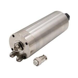 Image 2 - 1 قطعة 0.8KW 1.5KW 2.2KW المغزل موتور المياه المبردة 80 مللي متر 65 مللي متر ER11 ER16 ER20 110V 220V النقش آلة المغزل المحركات ل cnc