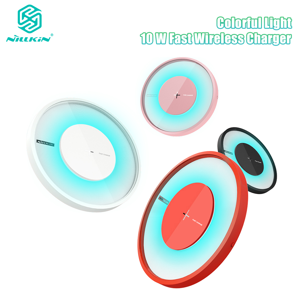 LED 10W Fast Wireless Charger