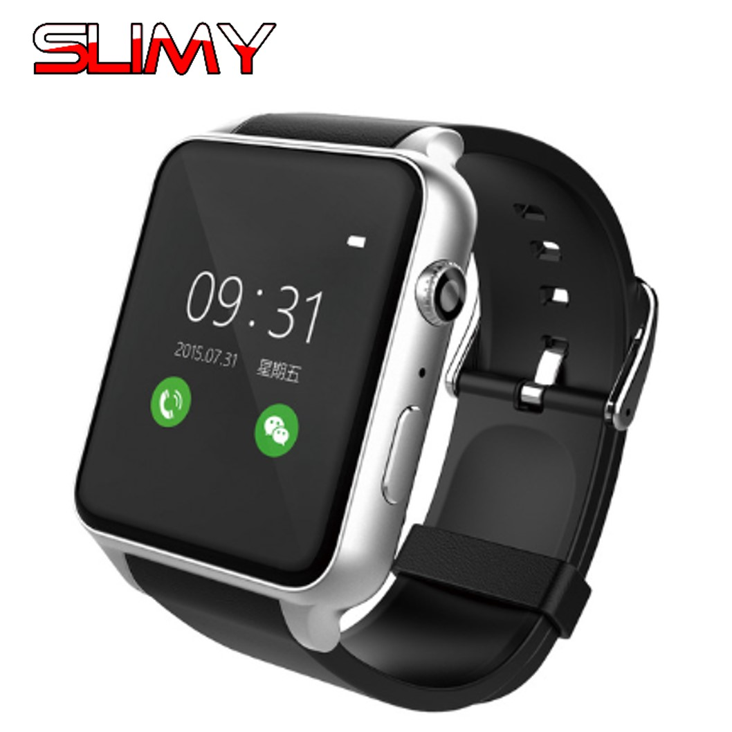 Slimy GT88 Bluetooth Smart Watch with Heart Rate Monitor Smartwatch for Android IOS Support 2G GSM SIM Card Life Waterproof