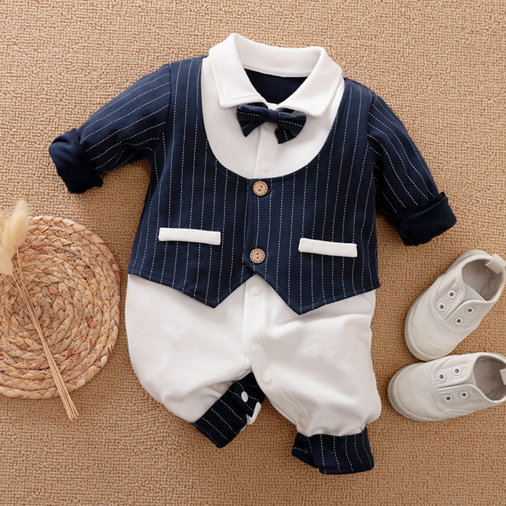 Malapina Baby Boy Romper Kids Summer Spring 0-24M Age Infant Gentleman Toddler Newborn Outfits Baby Girls Clothes 2020 2