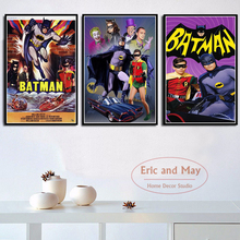 Batman Series Comic Anime Superhero Canvas Painting Posters And Prints Wall Art Picture Vintage Poster Decorative Home Decor