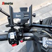 Hot Deals Telefon Halter Motorrad CNC Lenker Mobile GPS Stehen Halterung Für Vespa GTS 125 250 300 Granturismo 125 200 s125 S150