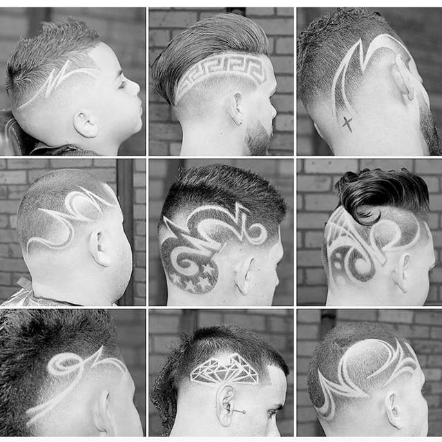 Перезаряжаемый триммер для волос в стиле ретро Модернизированная