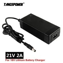 21v 18v 2a lithium battery charger 5 Series 100-240V 21V 2A