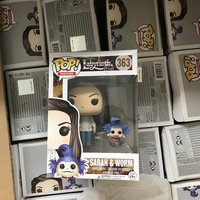 Funko pop Official Movies: Labyrinth Sarah and Worm Vinyl Action Figure Collectible Model Toy with Original Box
