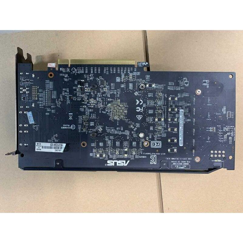 Видеокарта ASUS RX 580 8 Гб GPU AMD Radeon RX580 8 Гб графические карты PUBG компьютерный игровой экран VGA DVI HDMI видеокарта 570 560 550-5