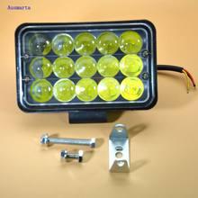Weketory 1 stück 90 Watt 5 zoll LED Arbeitslicht Flut Fahren lampe für AutoCar Lkw Anhänger SUV Offroads Boot 12 V - 80V 4WD