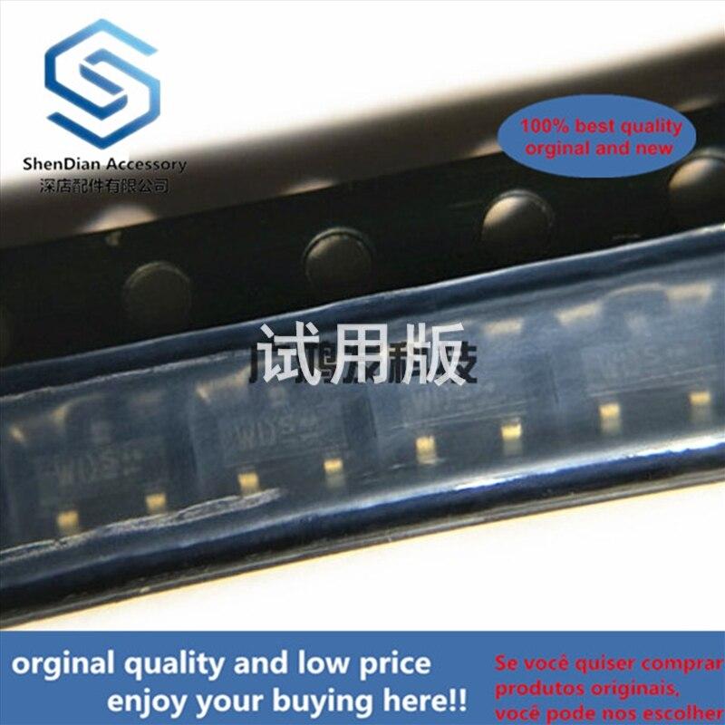 10pcs 100% Orginal New BCR141 E6327 NPN Transistor Silkscreen WD WDs SOT-23
