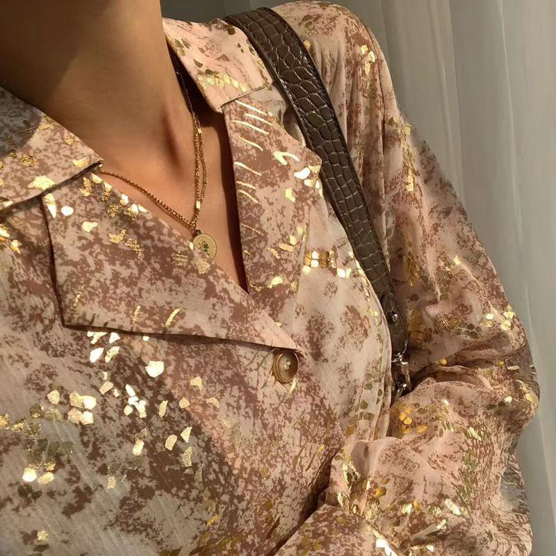 New Listing Sequin Women Shirts 1