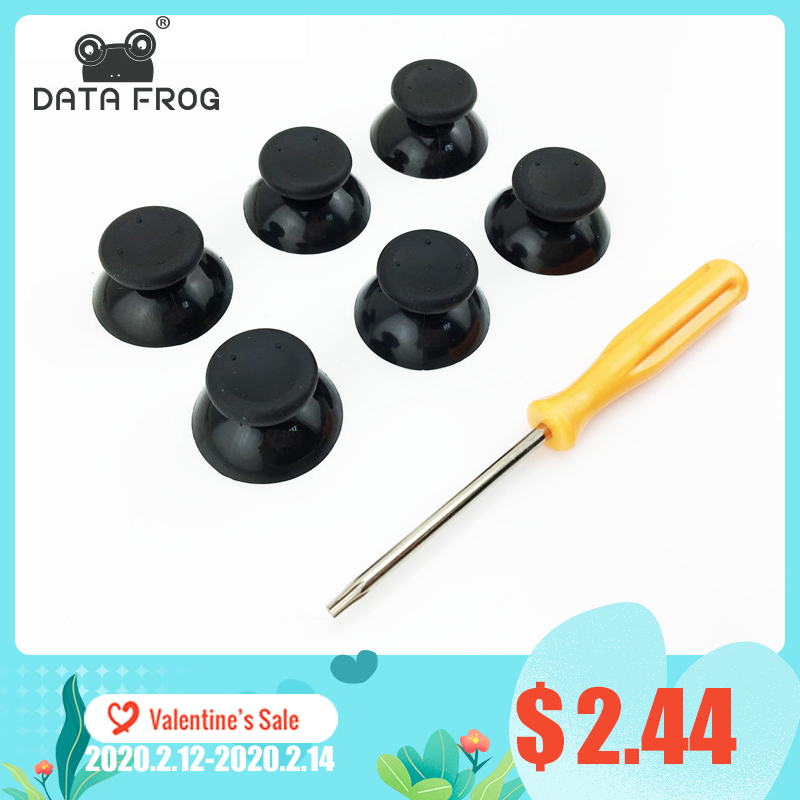 6 Pcs Replacement Buttons Thumb Sticks For Microsoft Xbox 360 Controller Analog Stick  Buttons For Xbox 360 Controller
