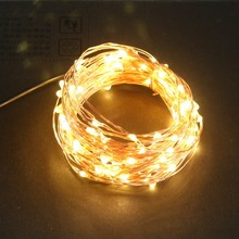 AA Battery Copper 2M LED String Lights Holiday Strip Lighting Fairy Garland For Christmas Tree Wedding Party Decoration