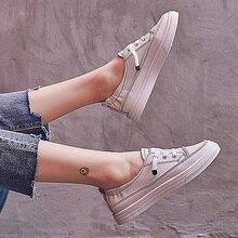Модные белые женские кроссовки tenis feminino со шнуровкой кроссовки на плоской подошве 218asl2810