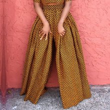 African Fashion Ethnic Print Casual Wide Leg Pants Plus Size Women Boho Elastic High Waist Oversize Trousers Ladies Fall 2019 casual ethnic print wide leg pants for women