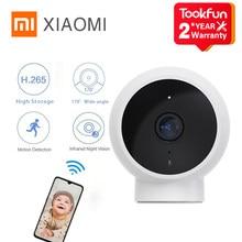 Xiaomi inteligentny aparat wersja standardowa 170 ° nocne widzenie w podczerwieni 1080p HD IP56 wodoodporna Wifi na świeżym powietrzu dla dzieci Monitor bezpieczeństwa