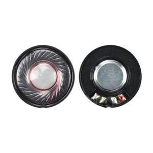 Image 4 - GHXAMP 2pcs 30mm Headphone Speaker Unit 32 ohm 100db Headset Driver Full Range Speakers Repair Parts For Headphones