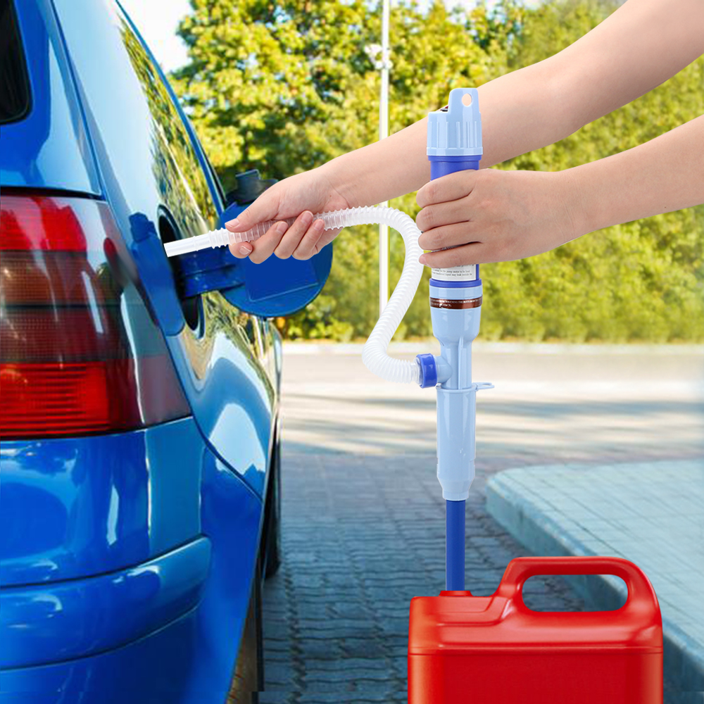 LEEPEE hogar exterior portátil coche estilismo líquido aceite coche transferencia de combustible bombas de succión eléctrica de mano bomba de agua
