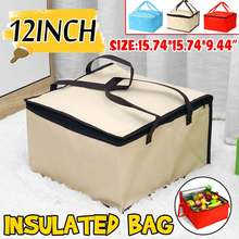 Cooler-Bag Ice-Pack Container Food Picnic Insulated Fresh Thickening Large 10/12inch