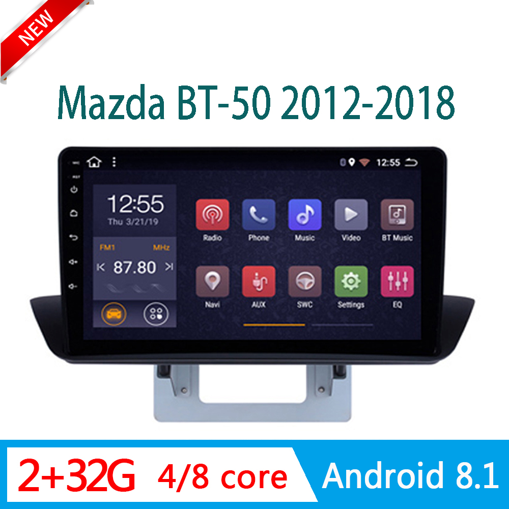2GRAM <font><b>car</b></font> radio For mazda BT50 BT 50 2004-2010 central DVD <font><b>Player</b></font> <font><b>Multimedia</b></font> stereo system RDS am WIFI <font><b>1din</b></font> Android mirror link image