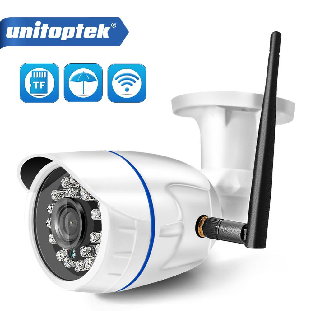 HD 720P 1080P Wireless IP Camera WIFI Outdoor ONVIF CCTV Video Home Security Bullet Camera TF Card Slot Night Vision APP CamHi