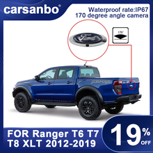 Car Rear View Camera For Ford RANGER T6 T7 T8 XLT 2012 2019 Logo HD Night Photosensitive Vision Reversing Camera Car Accessories
