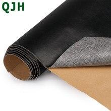 135x50cm plutônio textura fina volta auto-adesivo vara falso couro do plutônio reparação de tecido adesivo para sofá saco de carro diy artesanato