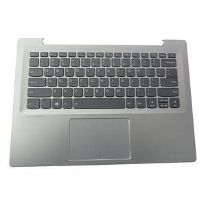 JIANGLUN for Lenovo IdeaPad 520S-14IKB Silver Palmrest w/ Backlit Keyboard & Touchpad