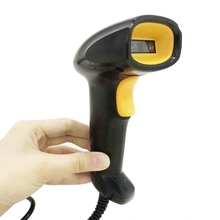 1D Barcode Scanner Wired Barcode Scanner-Gun Fit for Paper Cell Phone Screen Wechat Alipay Barcode