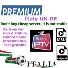 Italia android soporte de caja de iptv con smart tv m3u enigma2 PC Linux(China)