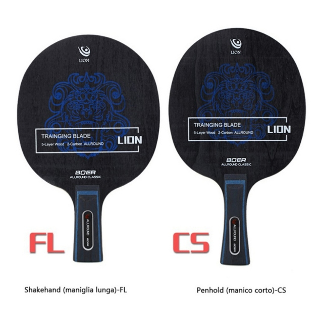 Table Tennis Racket Pimples-in Rubber 7 Baseboard Layers Wooden Bottom Ping-pong Bats Racquet Sports Accessories 1