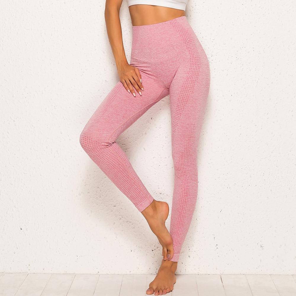 Women Seamless Workout Sportswear Tights 8