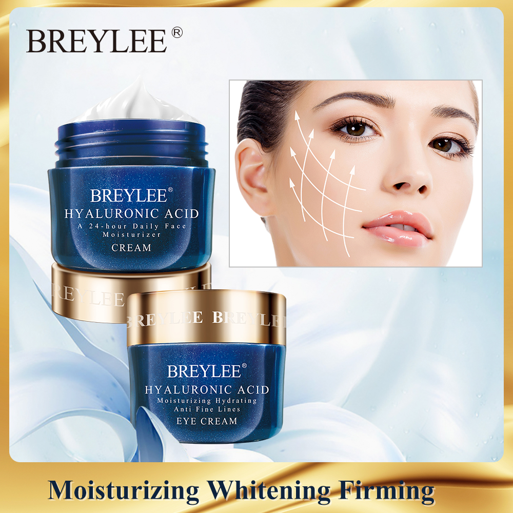 BREYLEE Vitamina C Whitening Cream Retinol Face Cream Facial Serum Hyaluronic Acid Skin Care Anti Aging Eye Cream Face Care