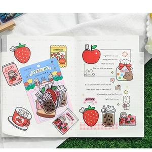 Image 5 - Infeel.Me Dreamer diary pcv naklejka scrapbooking dekoracja etykieta 1 partia = 16 paczek hurtowych