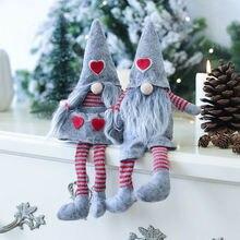 Милый гном/томте Санта Клаус Рождественская Кукла домашний декор детские подарки вязание