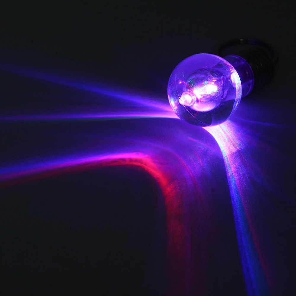 1 pçs design original colorido mudando led lanterna luz mini lâmpada chaveiro chaveiro chaveiro lâmpada clara tocha chaveiro novo